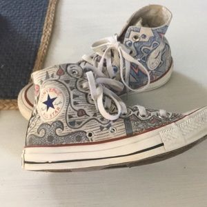 Converse All Stars High top Art Chicago Size 7